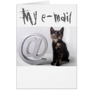 Arobasのほんの少しの子ネコ カード
