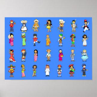 arounsからの子供世界 ポスター