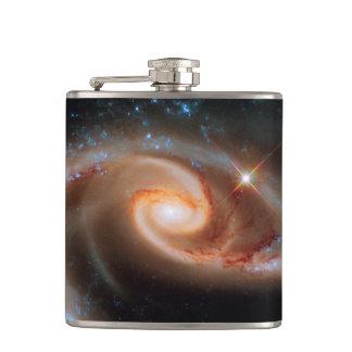 Arp 273のばら色の銀河系のハッブルの宇宙の写真 フラスク