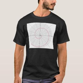 arquimedesのespiral dextrogira tシャツ