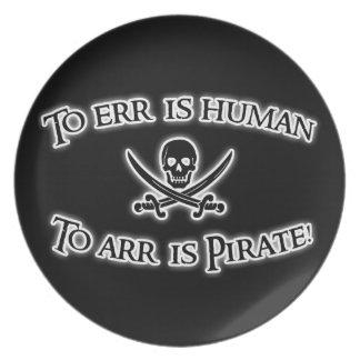 Arrに海賊はあります! プレート