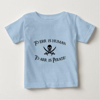 Arrに海賊はあります! ベビーTシャツ