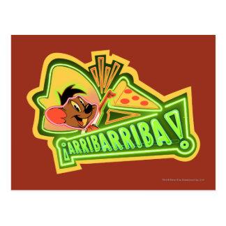 Arribarribaピザ ポストカード