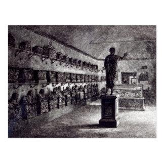 Arringatoreのホール、Etruscan博物館 ポストカード