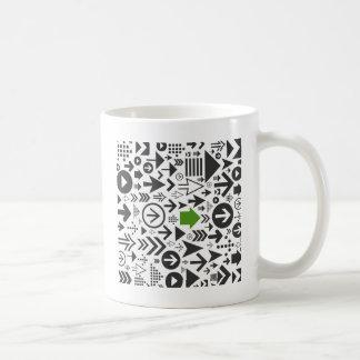 arrows8の背景 コーヒーマグカップ