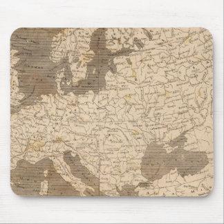 Arrowsmith著ヨーロッパの地図 マウスパッド