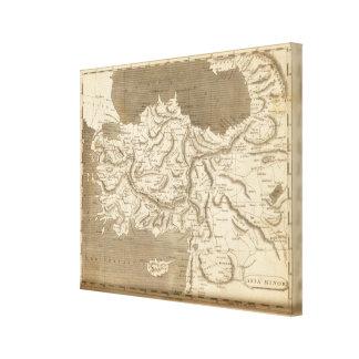 Arrowsmith著小アジアの地図 キャンバスプリント