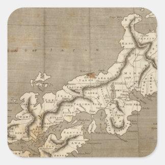 Arrowsmith著日本地図 スクエアシール