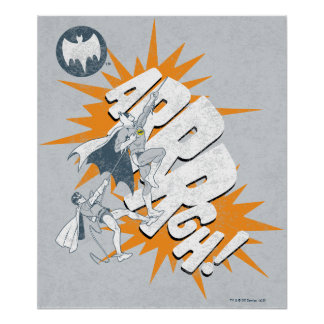 ARRRGHのバットマンおよびロビンの上昇のグラフィック ポスター