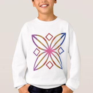 ART101シンプルな芸術のBackdesignのプリント スウェットシャツ