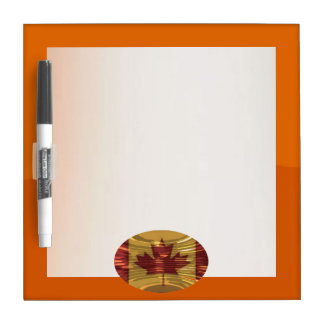 Art101ジェット機のオレンジ調子のボーダーn映写幕 ホワイトボード
