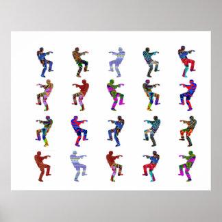 ART101ダンス: あなたのゾンビを発見して下さい ポスター