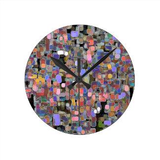 Art101ペーパー切断の技術の仕事 ラウンド壁時計