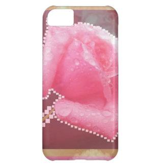 ART101官能的なばら色の花 iPhone5Cケース