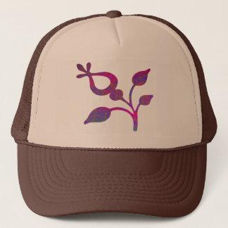 Art101紫色の宝石 キャップ