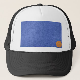 Art101金ゴールドのシール-青い果実のサテンの絹のブランク キャップ