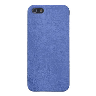 Art101金ゴールドのシール-青い果実のサテンの絹のブランク iPhone SE/5/5sケース