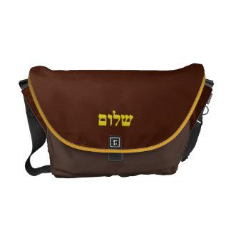 "Artaliz著メッセンジャーバッグ""Shalom"" メッセンジャーバッグ"