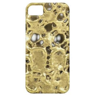 Artandraの金ゴールドのデザイン iPhone SE/5/5s ケース