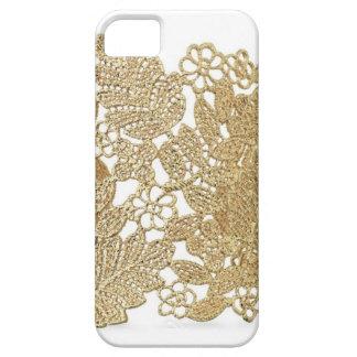 Artandraの金ゴールドのレースのiPhoneカバー iPhone SE/5/5s ケース