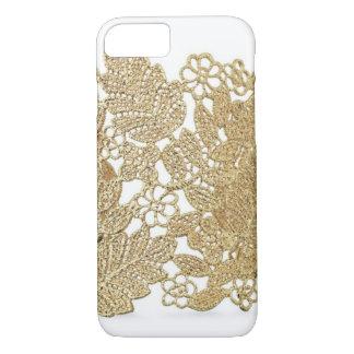 Artandraの金ゴールドのレースのiPhone 7の場合 iPhone 8/7ケース