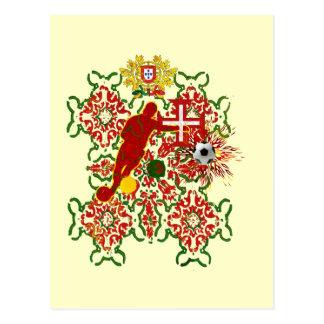 Arte e Futebolのencontra - Futebol Português ポストカード