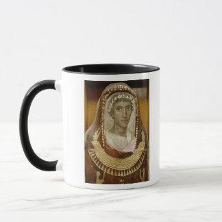 Artemidorusの絵を描かれ、金めっきされたミイラの例 マグカップ