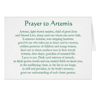 Artemis Notecard カード