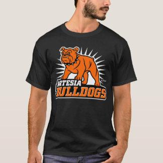 Artesiaのブルドッグの第一次ロゴのTシャツ Tシャツ