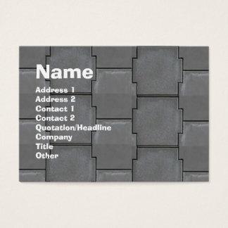 Artiisanの煉瓦提示 名刺