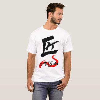 Artisan , Eng & Jp word handwritten with brush Tシャツ