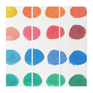 Artist Color Samples Triptych Art トリプティカ