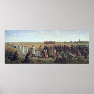 Artois 1857年のムギの天恵 ポスター