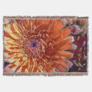 ArtYesFashion著カリフォルニア野生花の投球敷物 毛布