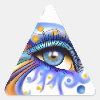 Arubissina V2 -フィッシュアイ 三角形シール