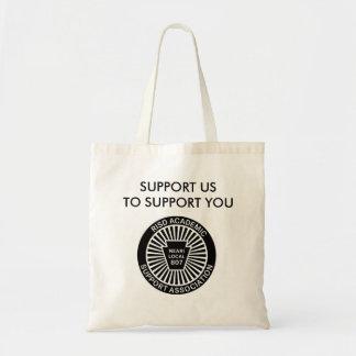 ASAのロゴのバッグ トートバッグ