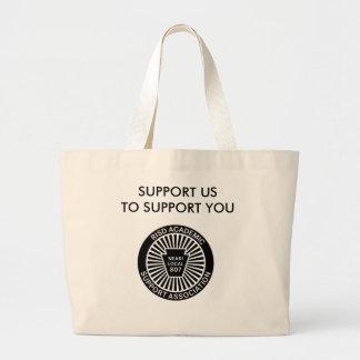 ASAのロゴの大きいバッグ ラージトートバッグ