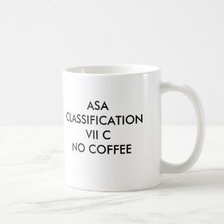 ASAの分類VII CNOのコーヒー、ASA CLASSIFI… コーヒーマグカップ