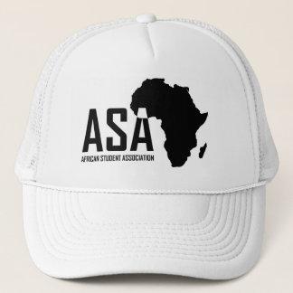 ASAの白いトラック運転手の帽子 キャップ
