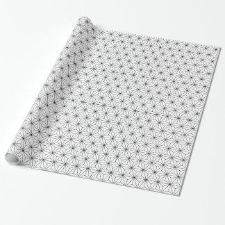 Asanohaの日本のなパターン包装紙 ラッピングペーパー