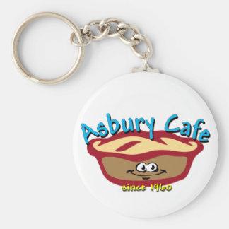 AsburyのカフェKeychain キーホルダー