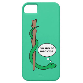 Asclepiusのユーモアのあるなスタッフ iPhone SE/5/5s ケース