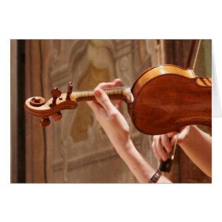 Asconaのバイオリン奏者 カード