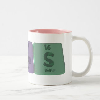 AscusようにCU Sヒ素銅硫黄 ツートーンマグカップ
