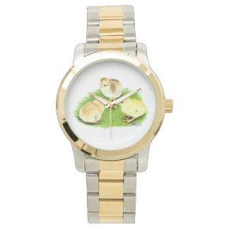 AseelのWheatenひよこ 腕時計