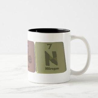 Ashenように彼Nヒ素ヘリウム窒素 ツートーンマグカップ
