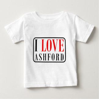 Ashfordのアラバマ都市デザイン ベビーTシャツ