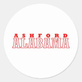 Ashfordのアラバマ都市デザイン ラウンドシール