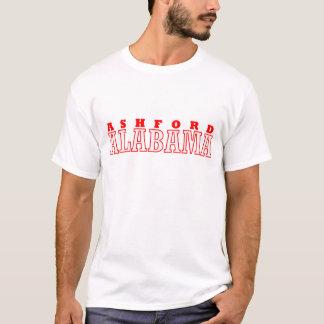 Ashfordのアラバマ都市デザイン Tシャツ