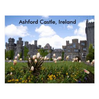 Ashfordの城、アイルランド ポストカード